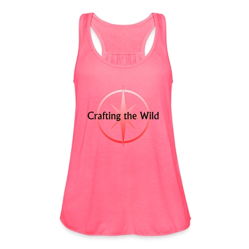 Crafting The Wild - Women's Flowy Tank Top by Bella