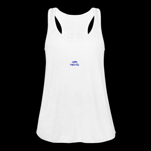 Blue 94th mile - Women's Flowy Tank Top by Bella