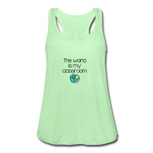 World Classroom - Women's Flowy Tank Top by Bella