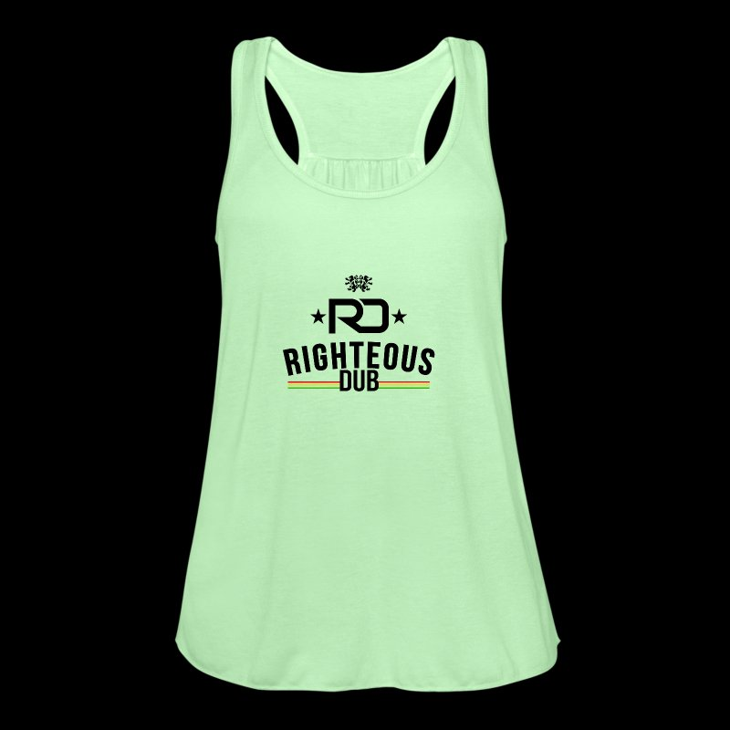 Righteous Dub Logo - Women's Flowy Tank Top by Bella