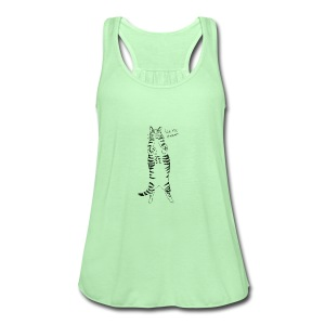 Pet me Human - Women's Flowy Tank Top by Bella
