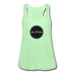 alpha team fitness - Women's Flowy Tank Top by Bella