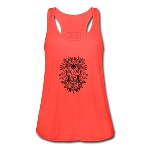 Lion - Women's Flowy Tank Top by Bella