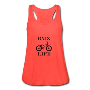 BMX LIFE - Women's Flowy Tank Top by Bella