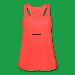 #ProfSwanky - Women's Flowy Tank Top by Bella