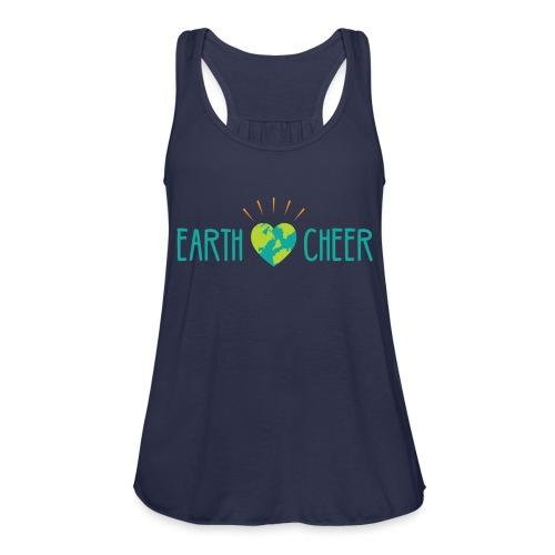 earth cheer - Women's Flowy Tank Top by Bella