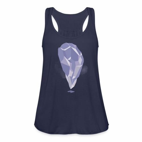 Amethyst Crystal design - Women's Flowy Tank Top by Bella