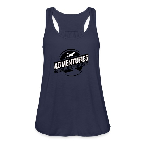 Adventures In Voluntourism - Women's Flowy Tank Top by Bella
