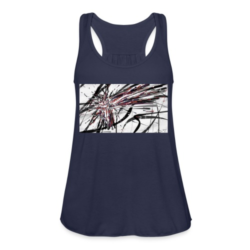 Original Abstract iPhone 5c Rubber Case - Women's Flowy Tank Top by Bella