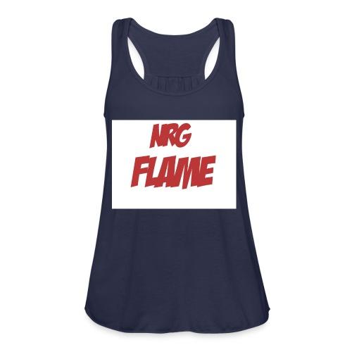 Flame For KIds - Women's Flowy Tank Top by Bella
