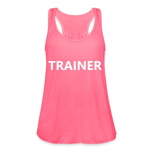 Trainer - Women's Flowy Tank Top by Bella