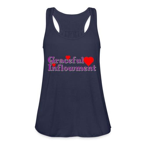 Graceful Inflowment - Women's Flowy Tank Top by Bella