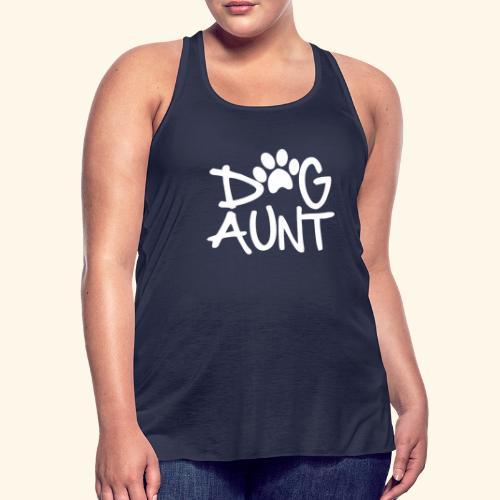 DOG AUNT - Women's Flowy Tank Top by Bella