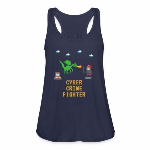 Cyber Crime fighter - Women's Flowy Tank Top by Bella