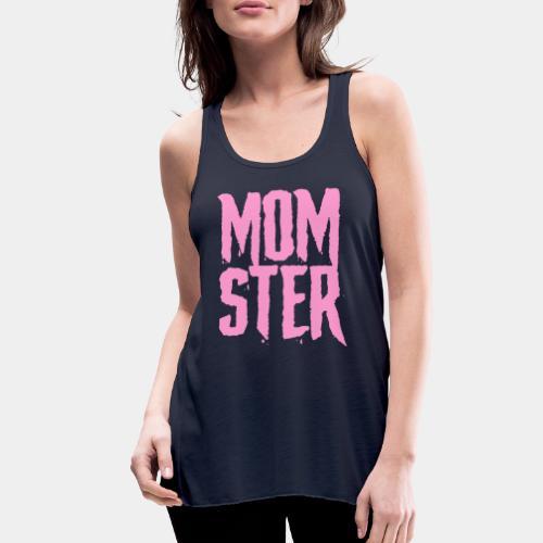 mother mom monster - Women's Flowy Tank Top by Bella