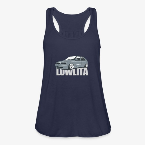 felicia lowlita - Women's Flowy Tank Top by Bella