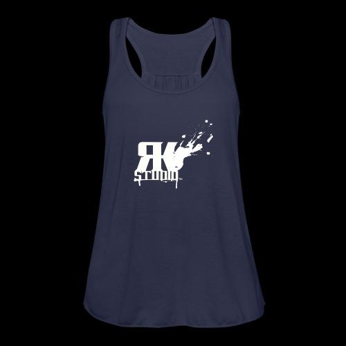 RKStudio White Logo Version - Women's Flowy Tank Top by Bella