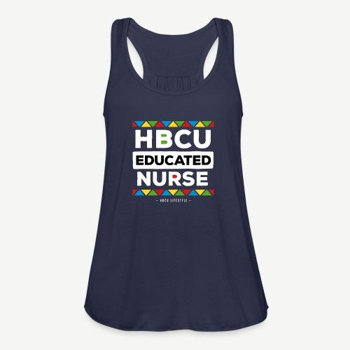 HBCU Educated Nurse - Women's Flowy Tank Top by Bella