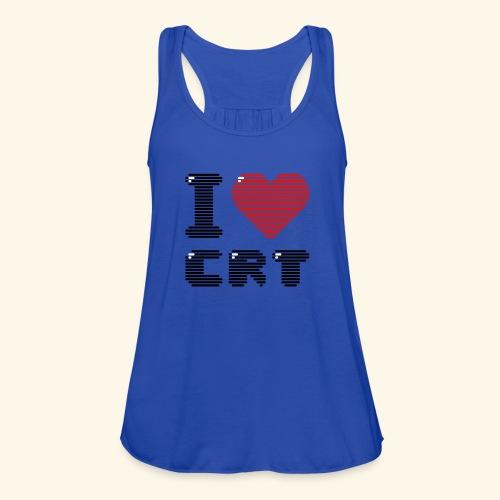 I Love CRT - Women's Flowy Tank Top by Bella