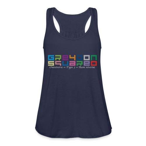 Greydon Square Colorful Tshirt Type 3 - Women's Flowy Tank Top by Bella