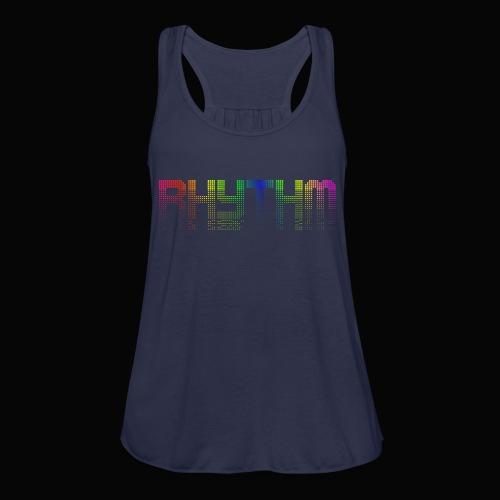 Rhythm! - Women's Flowy Tank Top by Bella