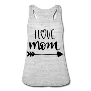 i love mom 5252 - Women's Flowy Tank Top by Bella