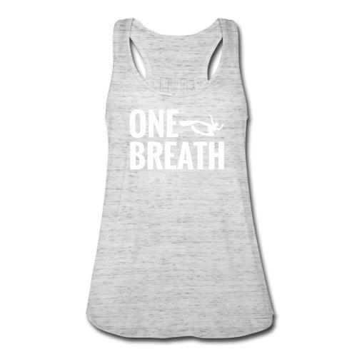 One Breath Freediving Apnea Shirt - Women's Flowy Tank Top by Bella