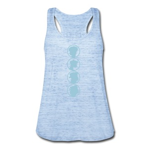 sillhouet - Women's Flowy Tank Top by Bella