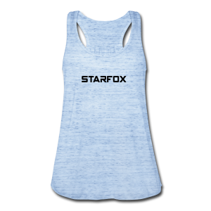 STARFOX Text - Women's Flowy Tank Top by Bella