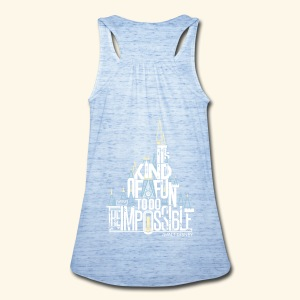 The Impossible - Women's Flowy Tank Top by Bella