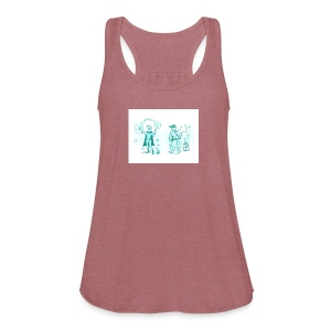 TEST DESIGN - Women's Flowy Tank Top by Bella