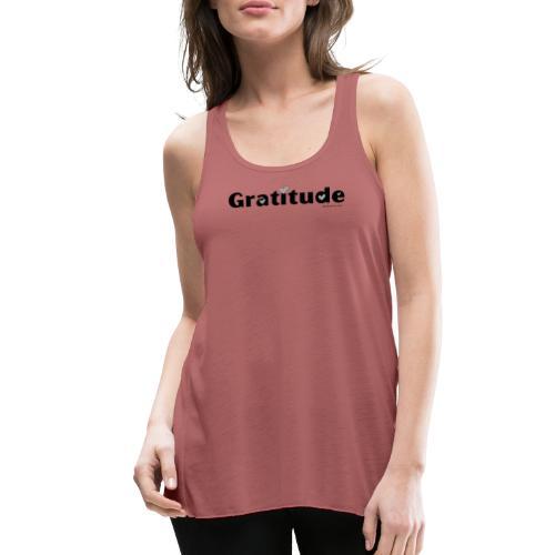 Gratitude - Women's Flowy Tank Top by Bella