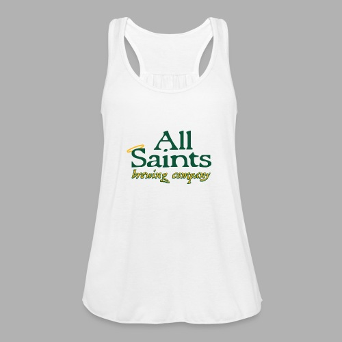 All Saints Logo Full Color - Women's Flowy Tank Top by Bella