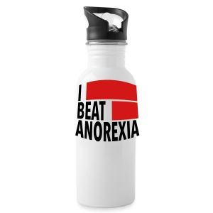 I Beat Anorexia - Water Bottle