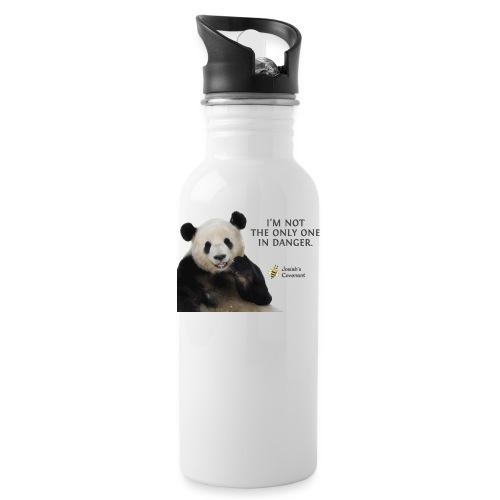 Endangered Pandas - Josiah's Covenant - Water Bottle