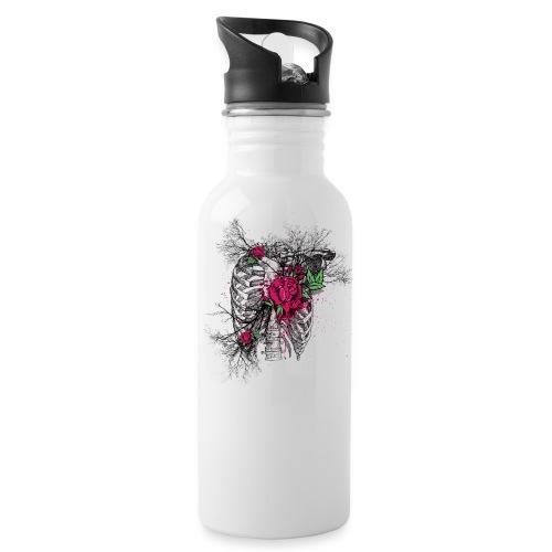 Skeleton Rose - Water Bottle