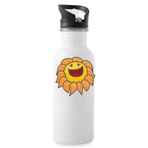 Happy sunflower - Water Bottle