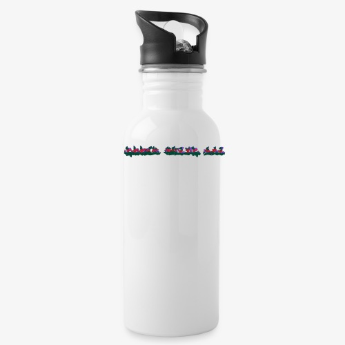 Edgy White Boi - Water Bottle