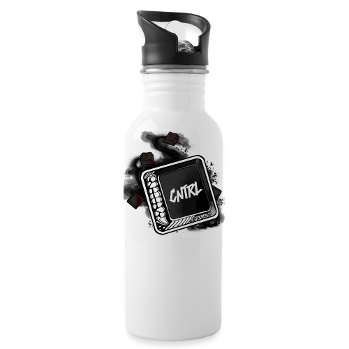 New CNTRL Logo - Water Bottle