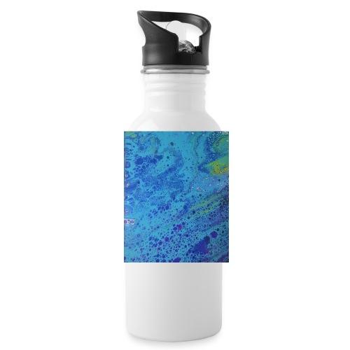 ocean wave - Water Bottle