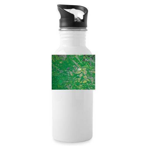 Green bubbles - Water Bottle