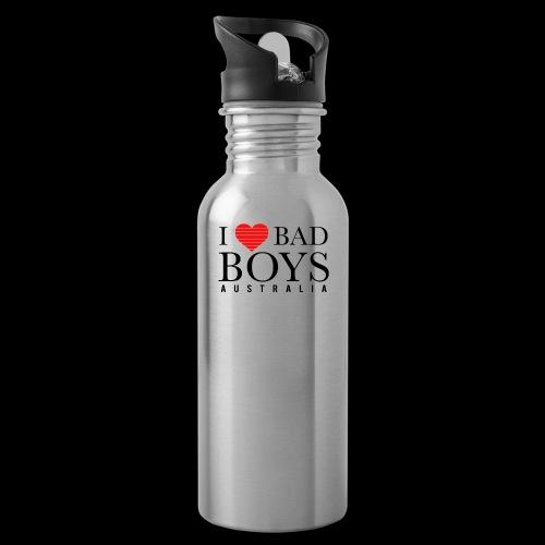 I LOVE BADBOYS - Water Bottle