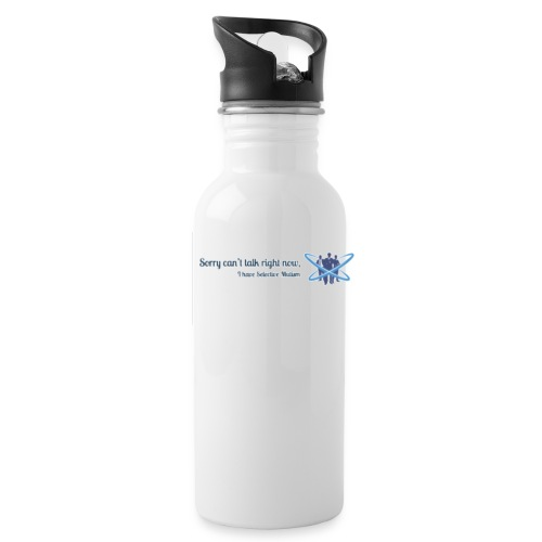 Can't talk logo - Water Bottle