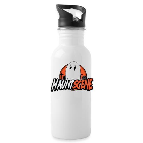 HauntScene Modern Logo 2020 - Water Bottle
