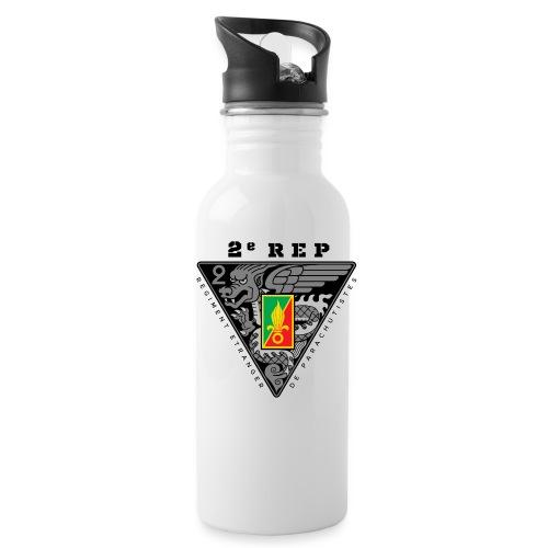 2e REP - Foreign Legion - Badge - Dark - Water Bottle