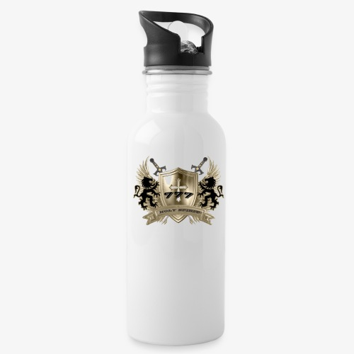 HOLY SPIRIT GOLD SHIELD - Water Bottle