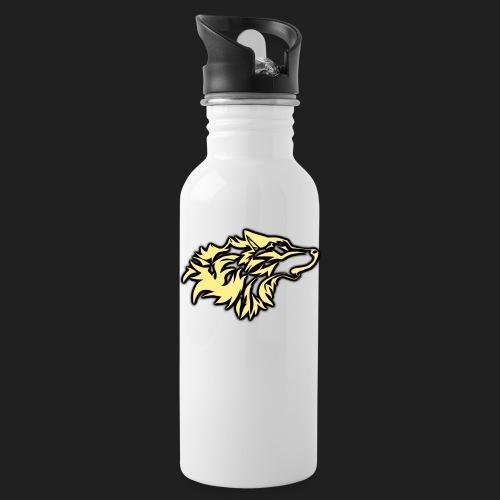 wolfepacklogobeige png - Water Bottle