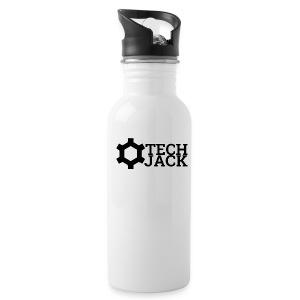 TECH JACK LOGO - Water Bottle