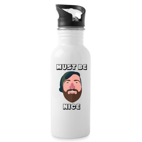 WiLLo Davis Face Must Be Nice - Water Bottle