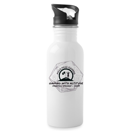 Pikes Peak Gamers Convention 2018 - Accessories - Water Bottle